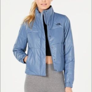 The North Face Femtastic insulated jacket blue